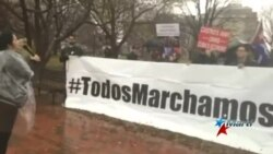 Protesta del movimiento Foro de Derechos y Libertades