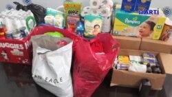 Comunidad venezolana recauda donativos para damnificados de tragedia natural