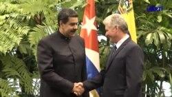 Exilio cubano pide aplicar al régimen de Cuba las mismas medidas que a Venezuela