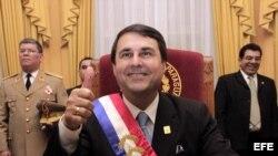 Presidente de Paraguay, Federico Franco.