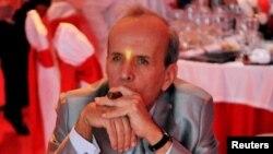 El ex presidente del Parlamento cubano Ricardo Alarcón durante una cena de gala en el cierre de la XIV edición del Festival del Habano.