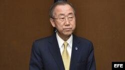 El secretario General de Naciones Unidas, Ban Ki-moom, en foto de archivo