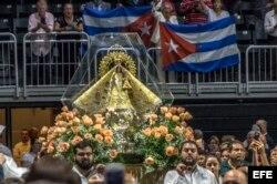 Miami rinde tributo a la Virgen de la Caridad del Cobre.
