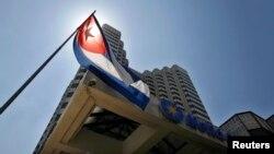 Vista del Hotel Meliá Cohiba. Meliá es una de las empresas españolas más importantes con inversiones en Cuba.