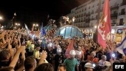 Miles de personas marcharon este miércoles en Madrid