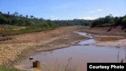 La sequía en Santiago de Cuba amenaza con la inminente paralización del suministro de agua desde algunos embalses.