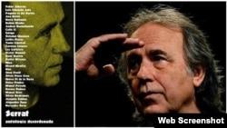 Portada disco Antologia Desordenada Joan Manuel Serrat