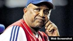 Alfonso Urquiola, exmánager del equipo de béisbol de Pinar del Río.