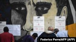 Las urnas en Caracas el 6 de diciembre de 2020. (Federico Parra / AFP).