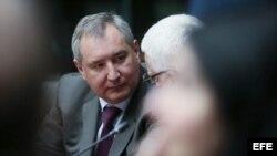 El viceprimer ministro ruso Dimitry Olegovich Rogozin