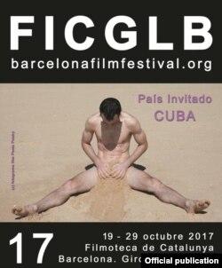 Cartel del festival, dedicado a Cuba.