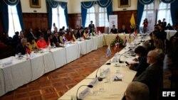 Declaración de Quito insta a seguir acogiendo emigrantes venezolanos