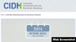CIDH otorga nuevamente peor nota en Derechos Humanos a Venezuela y Cuba.