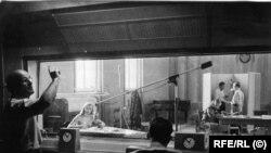 Estudio de Radio Europa Libre (RFE/RL), emisora creada en 1949 para transmitir a países ocupados por la URSS.