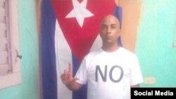Geordanis Muñoz Guerrero, opositor cubano, activista de la Unión Patriótica de Cuba (UNPACU). (Facebook).