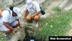 Contaminación afecta a residentes en barrio habanero