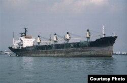 El mercante Alegría de Pío, construido en España en 1980, fue retirado de la lista negra de EEUU.