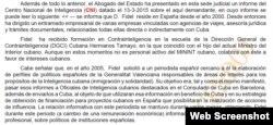 Detalle de la sentencia de denegación de ciudadanía a Yolexi Singh emitida por la Audiencia Nacional de España.