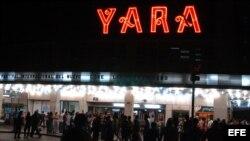 El cine Yara.