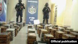 La Policía Nacional de Panamá incautó 401 paquetes de cocaína en un barco procedente de Cuba, disimulados entre tanques de melaza de caña.