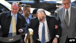 Harvey Weinstein a su llegada al Tribunal de Nueva York