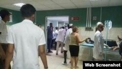 Los heridos están siendo atendidos en el Hospital General Docente Antonio Luaces Iraola de Ciego de Avila y el hospital de Morón.
