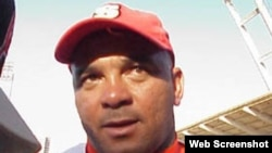 Antonio Pacheco, ex segunda base del equipo de Béisbol de Cuba