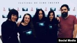 Organizaores del PrimerFestival de CineINSTAR. Tomado de Facebook mailyn.gomezcruz