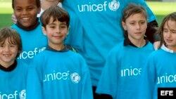 Unicef, niños.