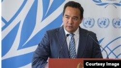 Keith Harper, embajador de EEUU ante el Consejo de Derechos Humanos de la ONU.