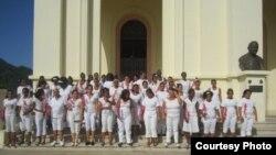 Damas de blanco rechazan palabras de Raúl Castro