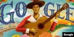 El homenaje de Google a María Teresa Vera cuando se cumplieron en febrero 125 años de su nacimiento.