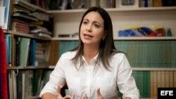 Maria Corina Machado, excandidata presidencial de Venezuela