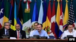 Primera plenaria de Ministros de Relaciones Exteriores, de la 47 Asamblea General de la OEA, en Cancún, México.
