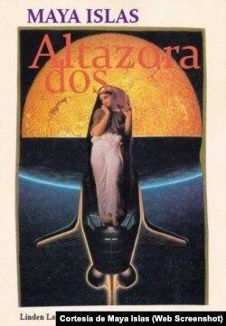 Portada de Altazora, poemario de Maya Islas