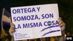 Nicaragüenses marchan para pedir justicia por muertes en los enfrentamientos