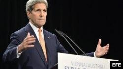 El secretario de Estado estadounidense, John Kerry.
