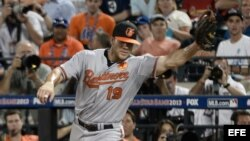 Chris Davis, de los Orioles de Baltimore.