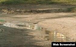 Contaminación en Guanabo