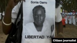 Reporta Cuba Damas de Blanco por Sonia Garro. Foto: Damas de Blanco.
