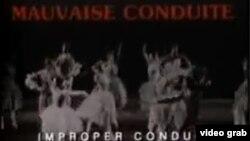 """Fotograma de """"Conducta Impropia""""."""