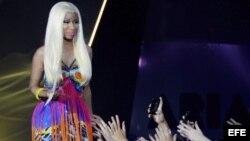 La cantante estadounidense Nicki Minaj.