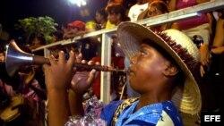 Imagen del Carnaval de Santiago de Cuba, que se celebra todos los años entre el 19 y 27 de julio.