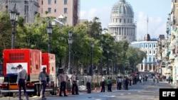 PREVIA A PRIMER DESFILE DE LA CASA CHANEL EN CUBA