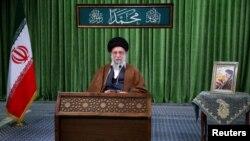 Líder Supremo de Irán, Alí Jameneí. Official Khamenei Website/Handout via REUTERS