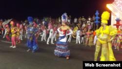 Reporta Cuba Habana carnavales 2014
