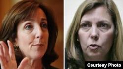 La situación de Alan Gross fue tema de las charlas entre Roberta Jacobson (i) y Josefina Vidal