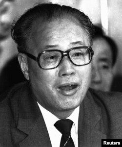 El entonces secretario general del Partido Comunista Chino Zhao Ziyang, defenestrado el 24 de junio de 1989 (Reuters).