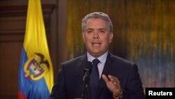 El presidente de Colombia, Iván Duque Márquez, en el poder desde el 7 de agosto de 2018. (Imagen cortesía de la Presidencia de Colombia).