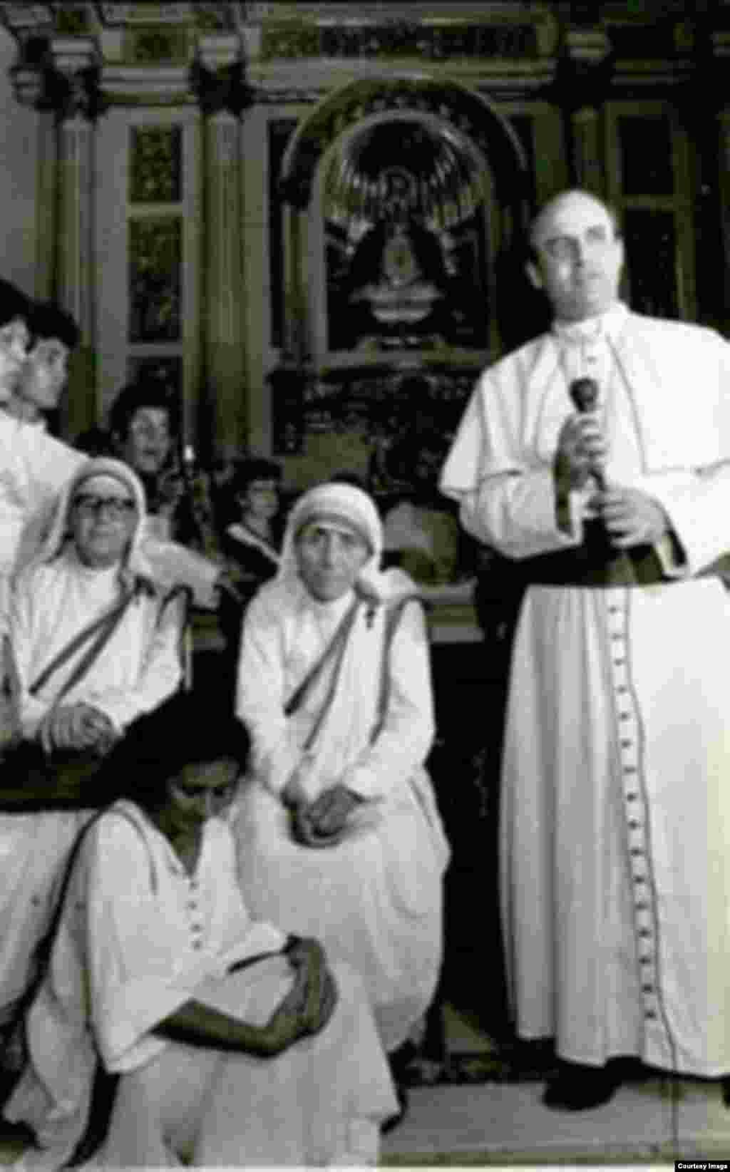 La Madre Teresa y Jaime Ortega